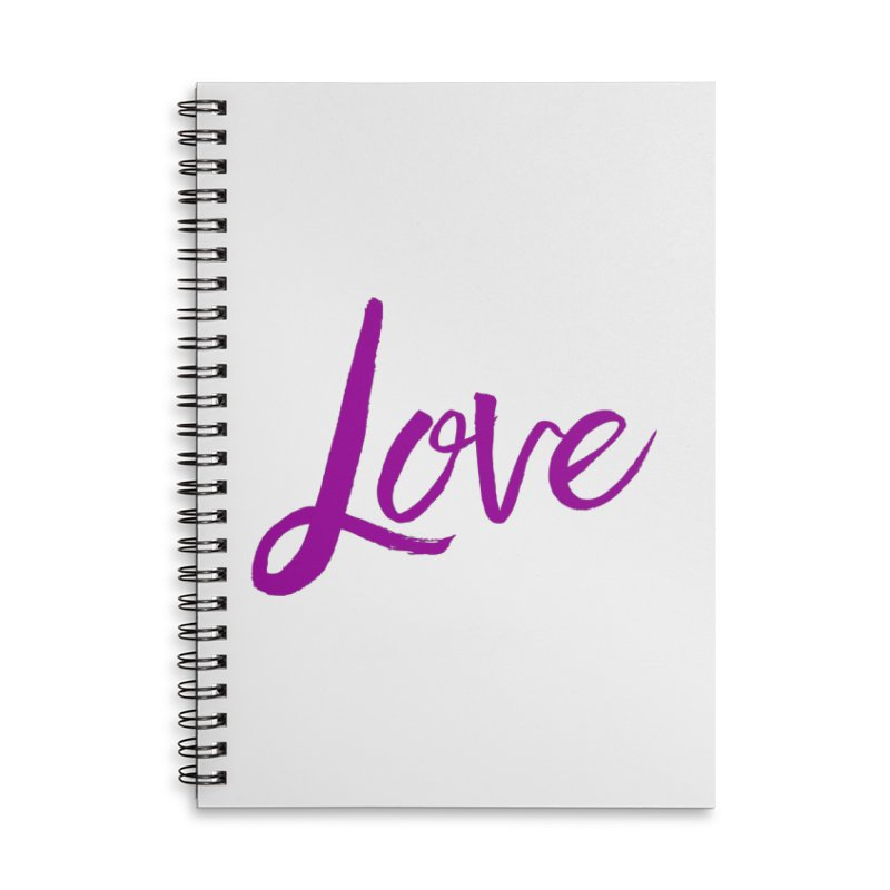 Love Accessories Notebook by Crystalline Light