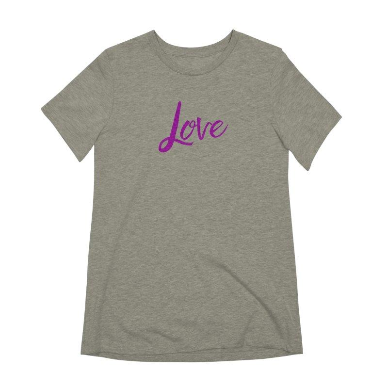 Love Women's Extra Soft T-Shirt by Crystalline Light