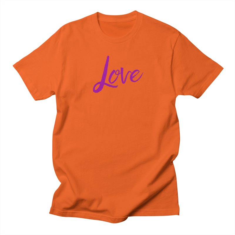 Love Men's T-Shirt by Crystalline Light