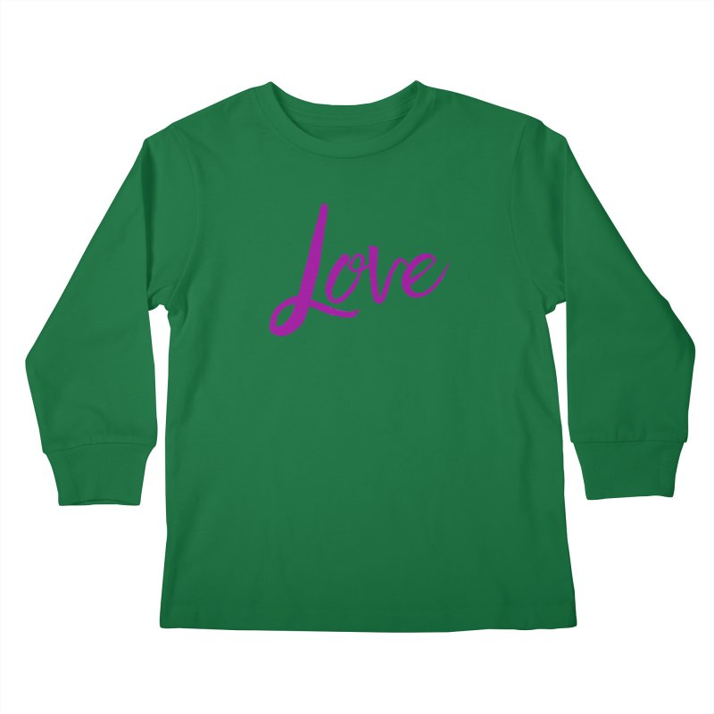 Love Kids Longsleeve T-Shirt by Crystalline Light