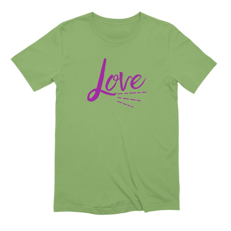 Love Men's Extra Soft T-Shirt by Crystalline Light