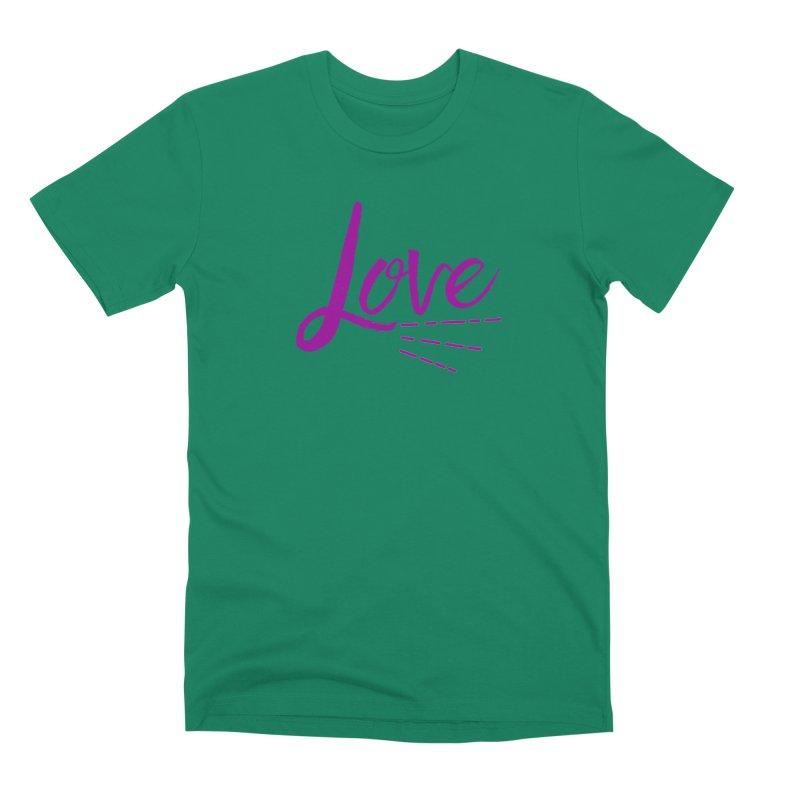 Love Men's Premium T-Shirt by Crystalline Light