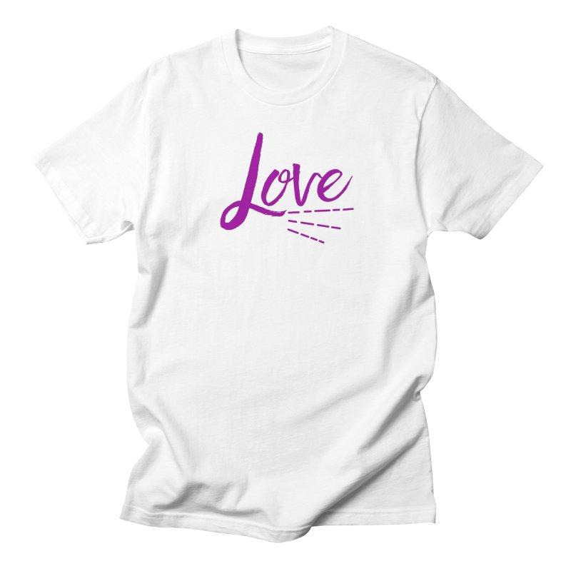 Love Women's Regular Unisex T-Shirt by Crystalline Light