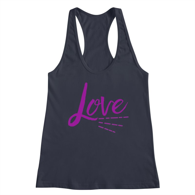 Love Women's Racerback Tank by Crystalline Light