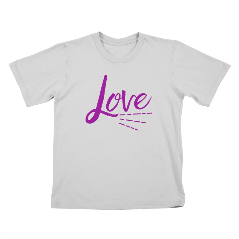 Love Kids T-Shirt by Crystalline Light