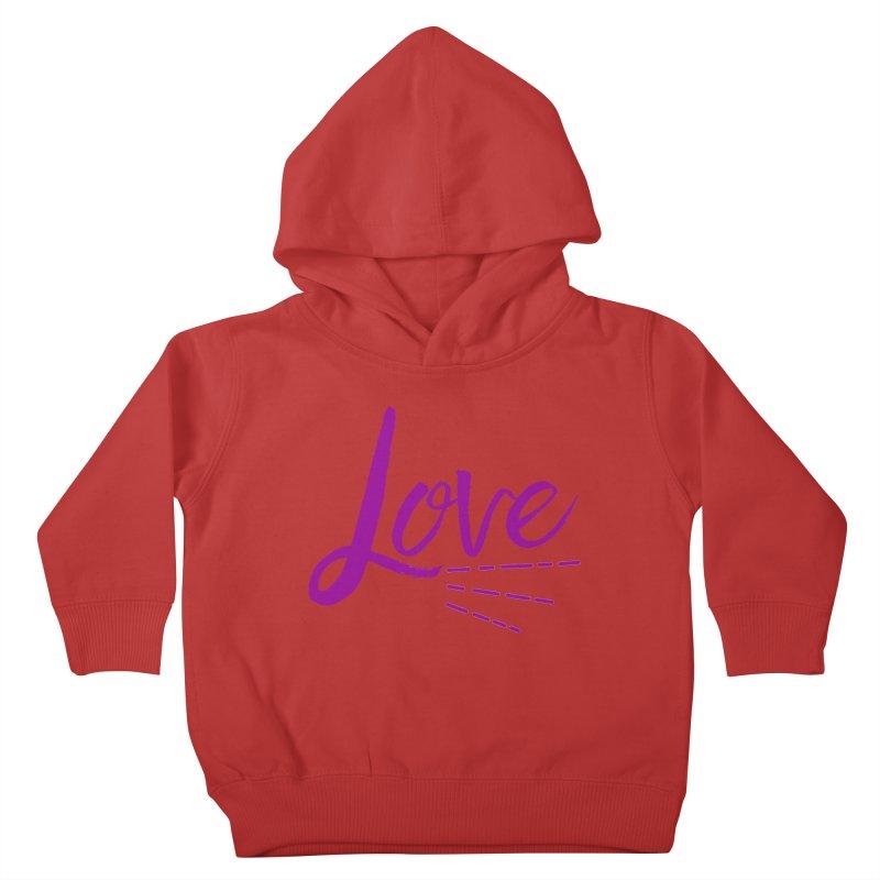 Love Kids Toddler Pullover Hoody by Crystalline Light