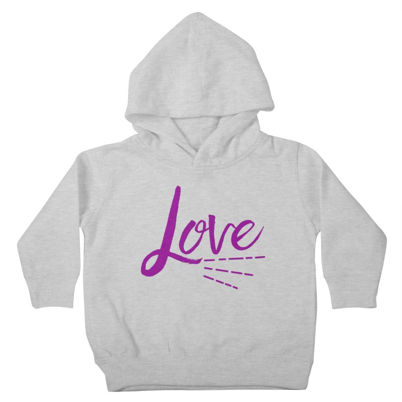 Love Kids Toddler Pullover Hoody by Crystalline Light