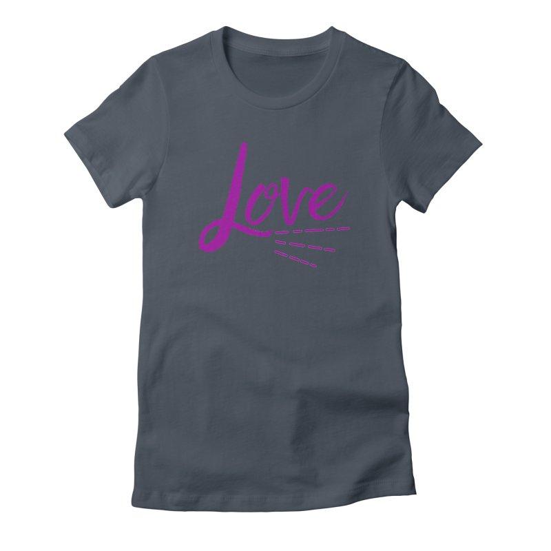 Love Women's T-Shirt by Crystalline Light
