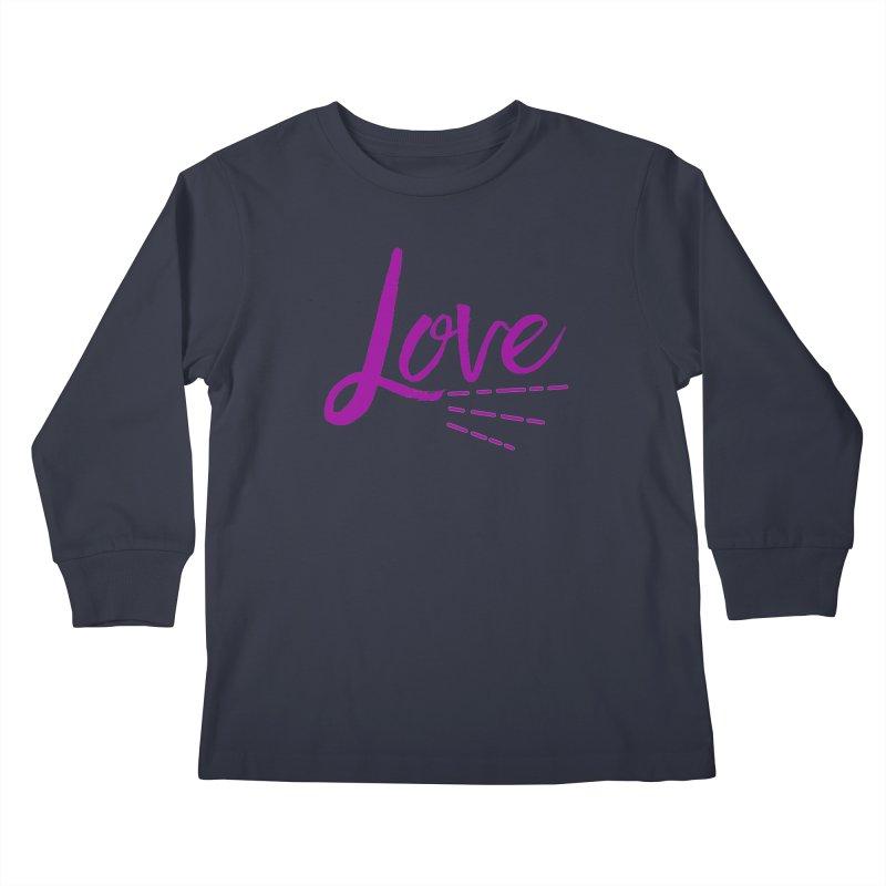 Love Kids Longsleeve T-Shirt by Crystalline Light