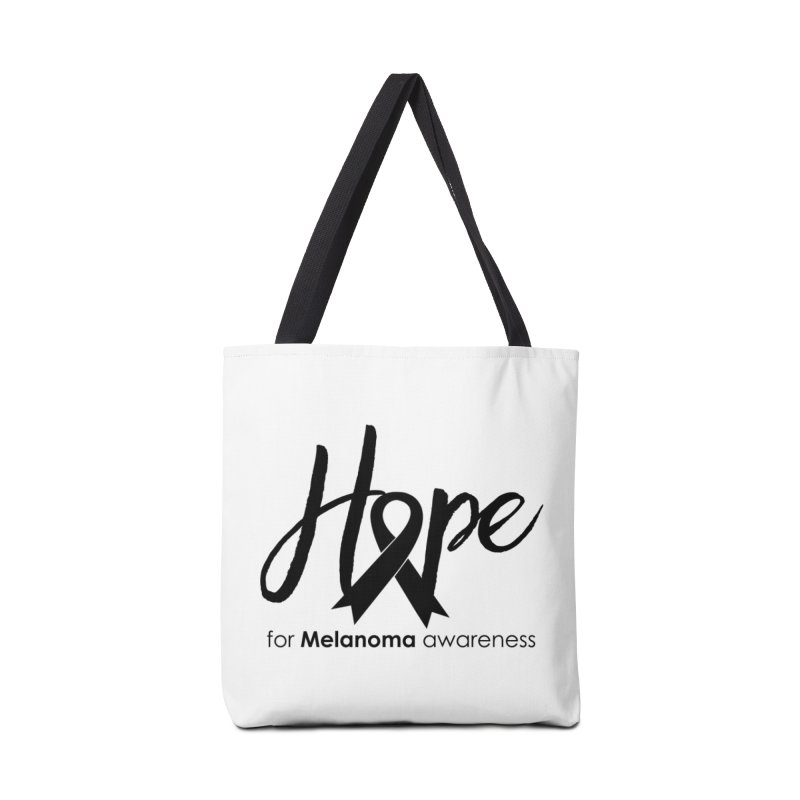 Hope - For Melanoma Awareness Accessories Tote Bag Bag by Crystalline Light