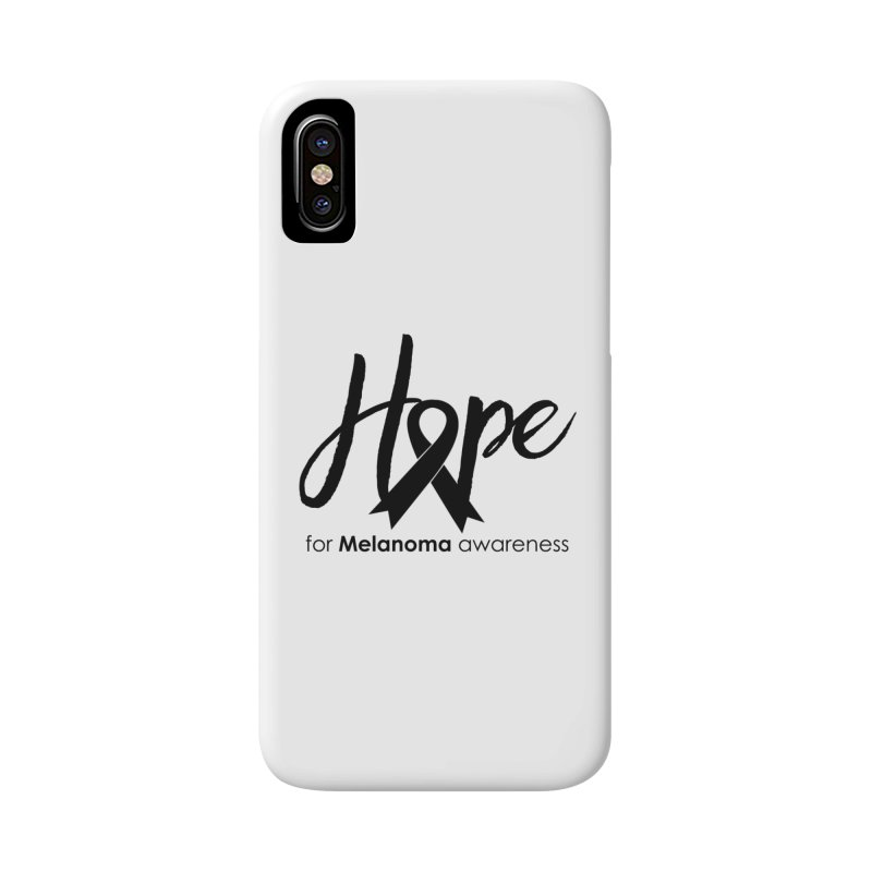 Hope - For Melanoma Awareness Accessories Phone Case by Crystalline Light