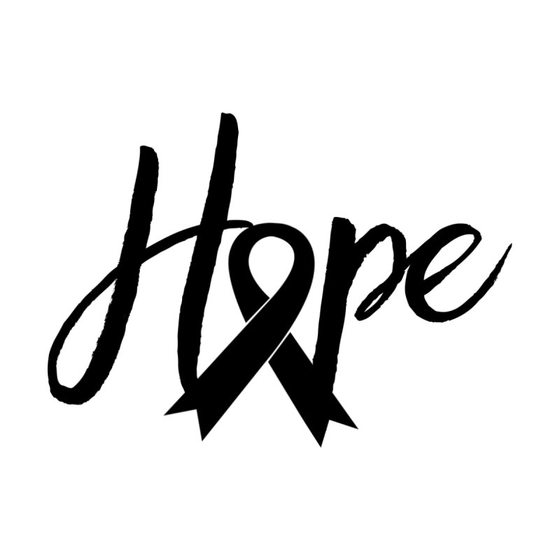 Hope - For Melanoma Awareness Accessories Bag by Crystalline Light
