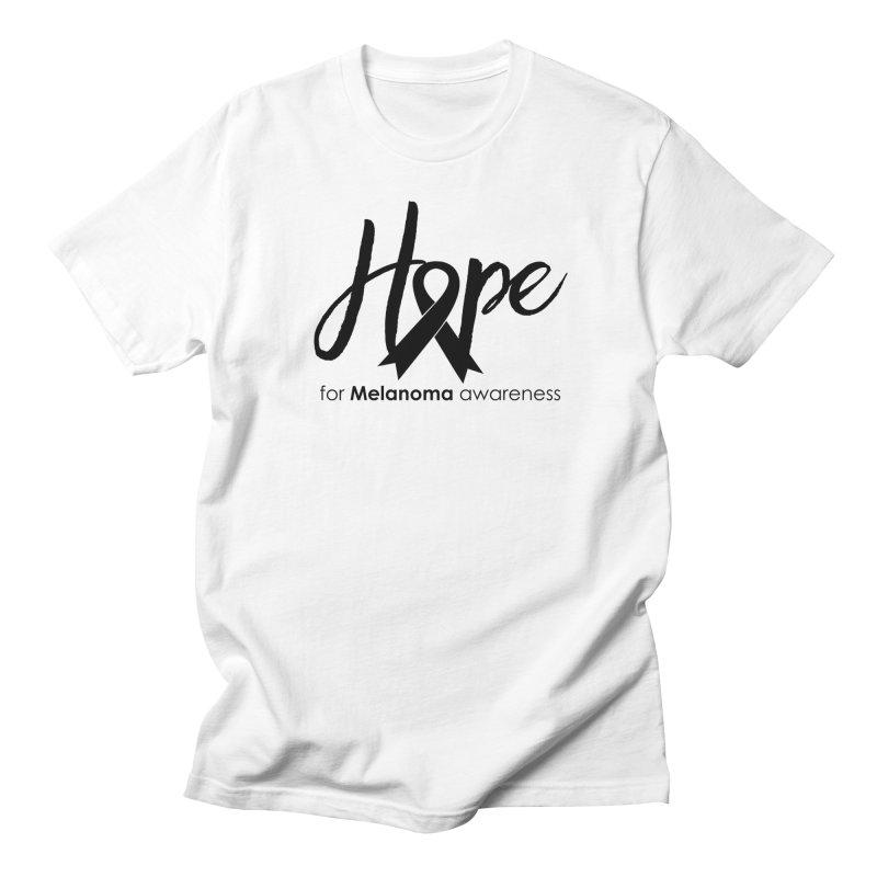 Hope - For Melanoma Awareness Women's Regular Unisex T-Shirt by Crystalline Light
