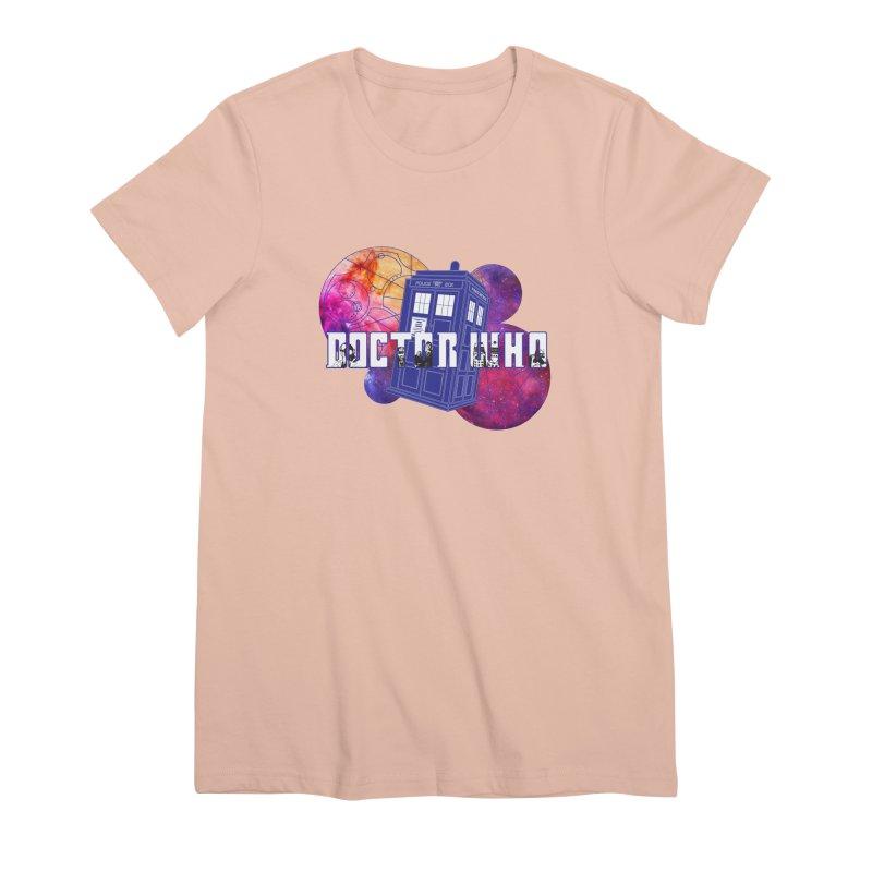 Timey Wimey Women's Premium T-Shirt by Cryste's Artist Shop