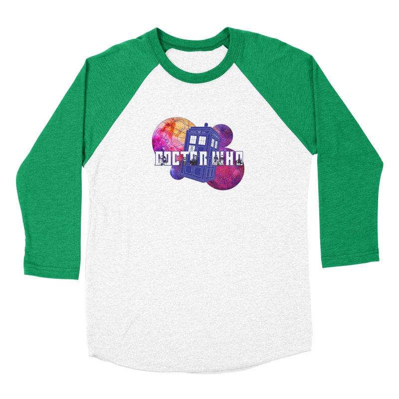Timey Wimey Women's Baseball Triblend Longsleeve T-Shirt by Cryste's Artist Shop