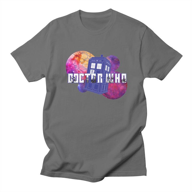 Timey Wimey Men's T-Shirt by Cryste's Artist Shop