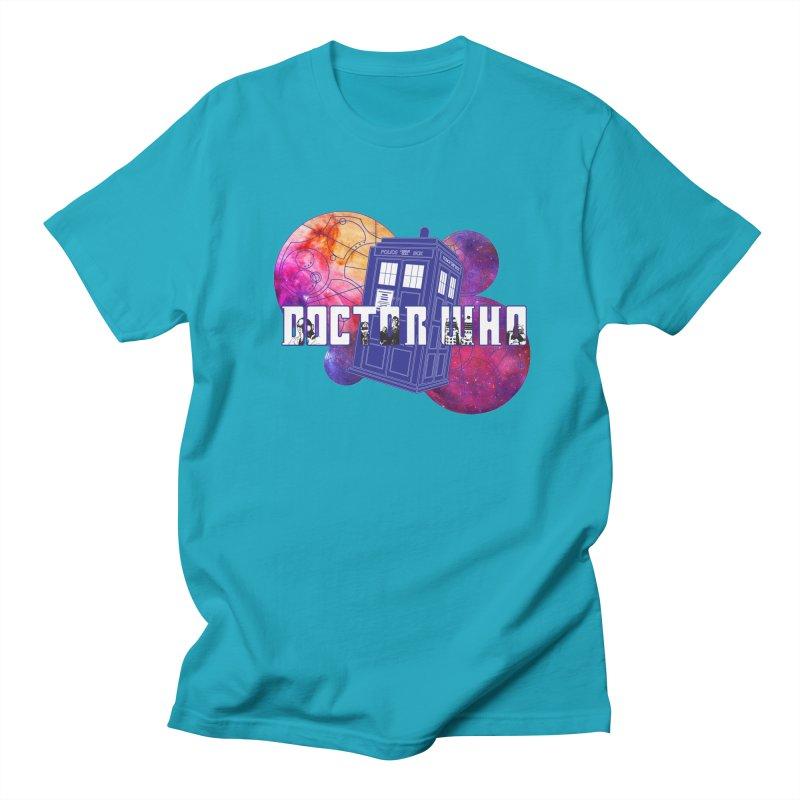 Timey Wimey Men's Regular T-Shirt by Cryste's Artist Shop