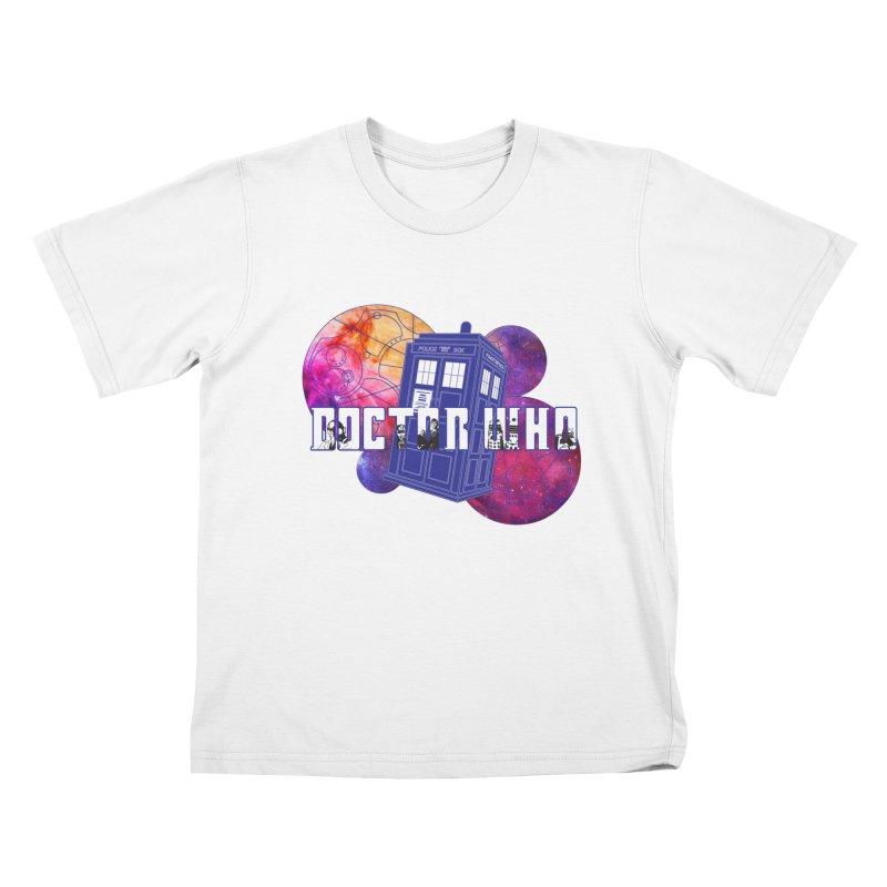 Timey Wimey Kids T-Shirt by Cryste's Artist Shop