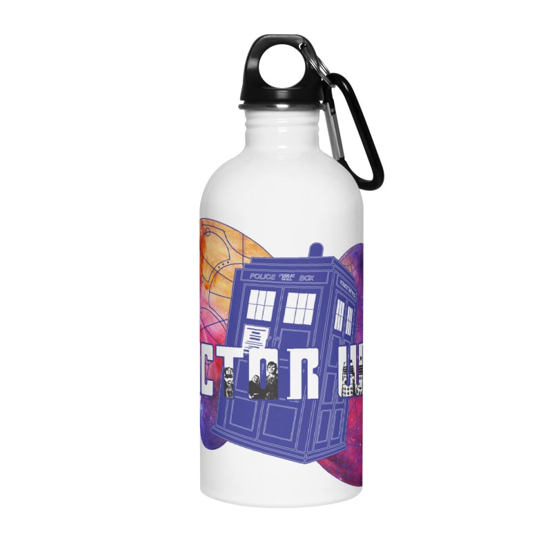 Timey Wimey Accessories Water Bottle by Cryste's Artist Shop