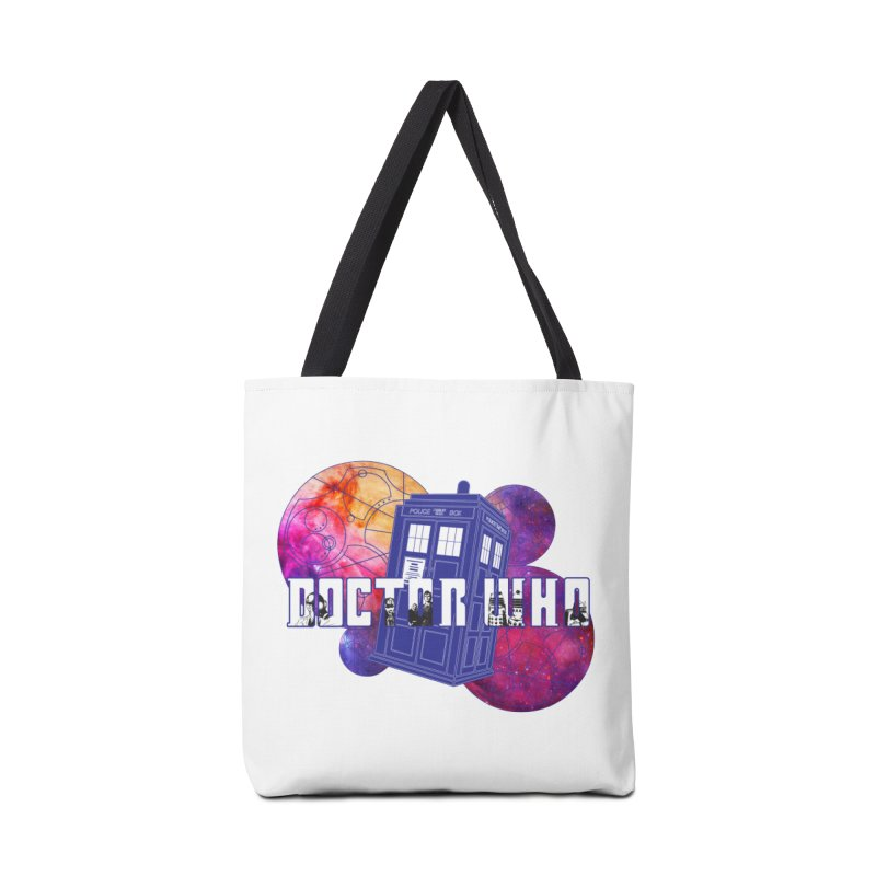 Timey Wimey Accessories Tote Bag Bag by Cryste's Artist Shop