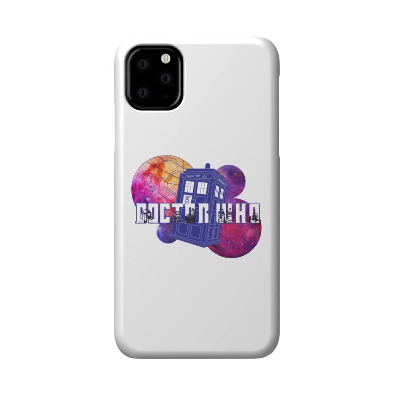 Timey Wimey Accessories Phone Case by Cryste's Artist Shop