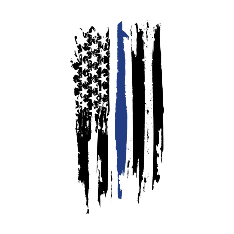 Police Flag by Cryste's Artist Shop