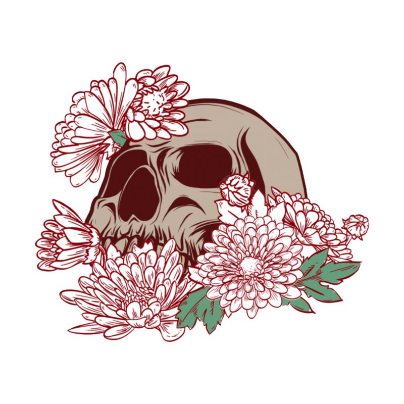 Beautiful Death Accessories Sticker by Cryste's Artist Shop