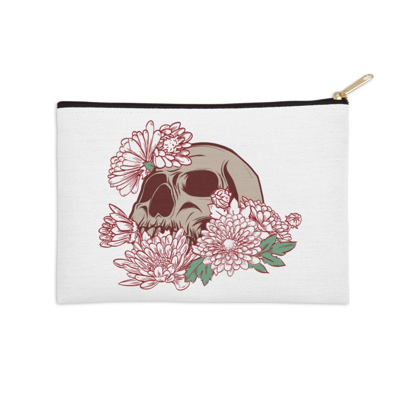 Beautiful Death Accessories Zip Pouch by Cryste's Artist Shop