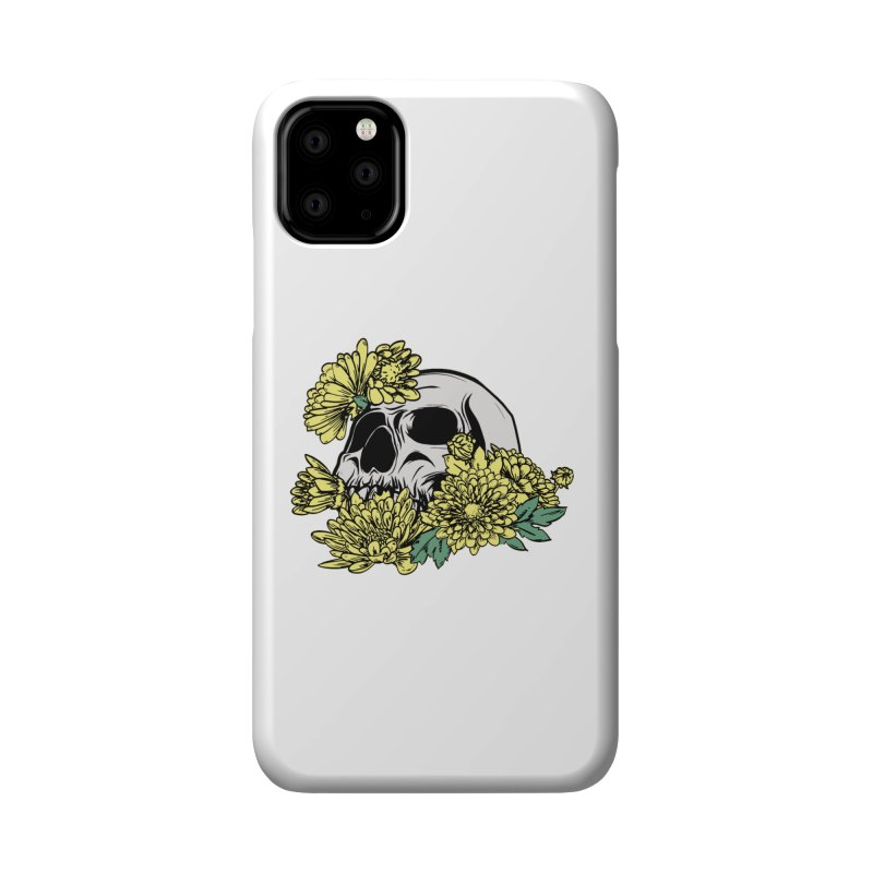 Beautiful Death Yellow Accessories Phone Case by Cryste's Artist Shop