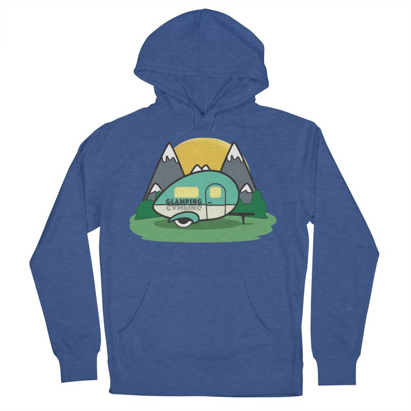 Glamping!! Women's French Terry Pullover Hoody by Cryste's Artist Shop