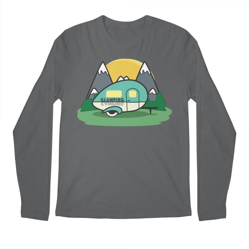 Glamping!! Men's Regular Longsleeve T-Shirt by Cryste's Artist Shop