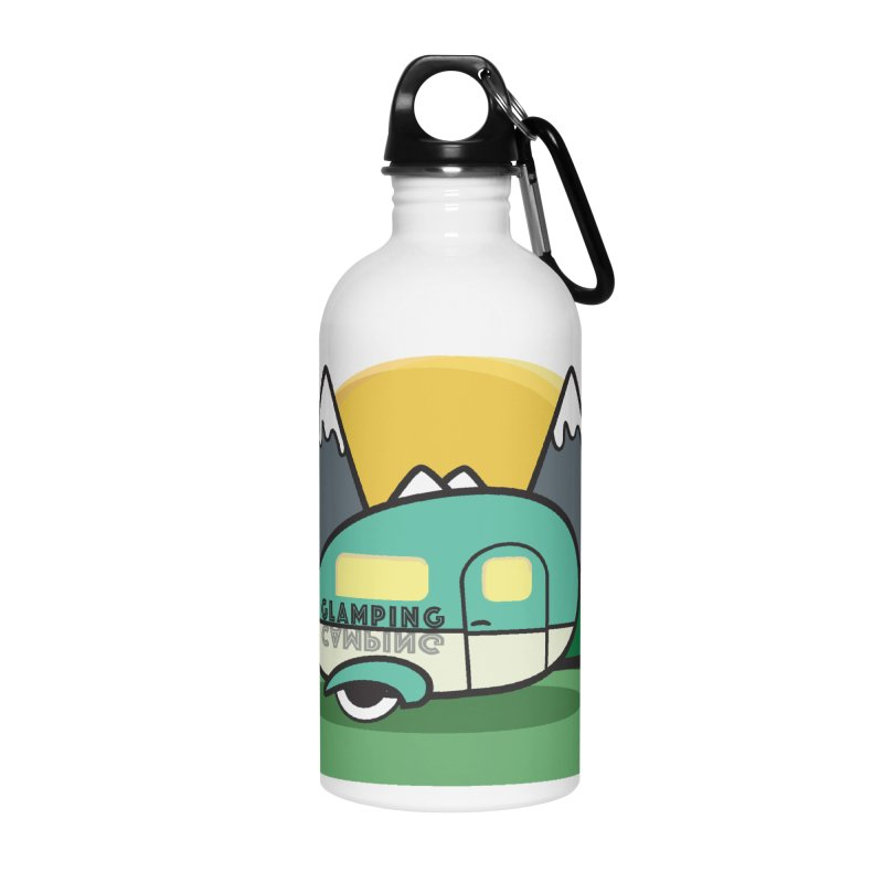 Glamping!! Accessories Water Bottle by Cryste's Artist Shop