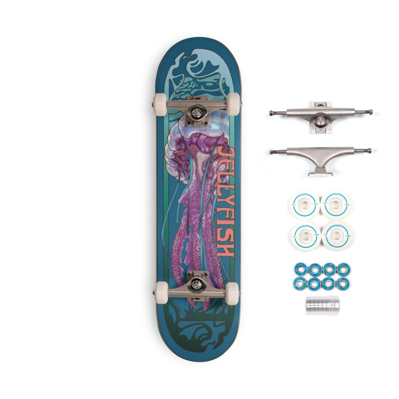 Jellyfish_Sea Creature Series No.2 Accessories Complete - Basic Skateboard by Cryste's Artist Shop