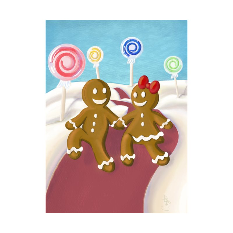 Gingerbread Christmas by Cryste's Artist Shop