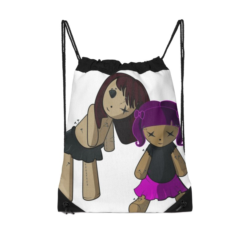 VooDoo Accessories Drawstring Bag Bag by Cryste's Artist Shop