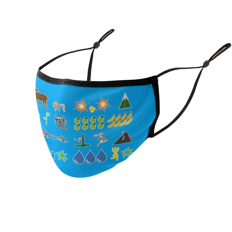 CSA Song Icons Accessories Face Mask by Camp St. Andrews
