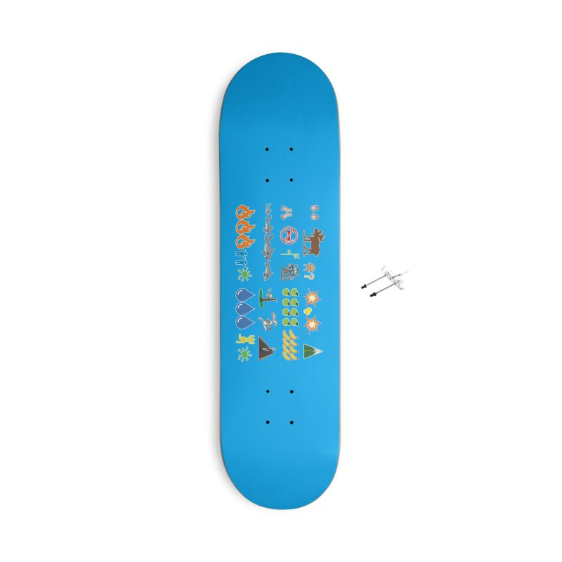 CSA Song Icons Accessories Skateboard by Camp St. Andrews