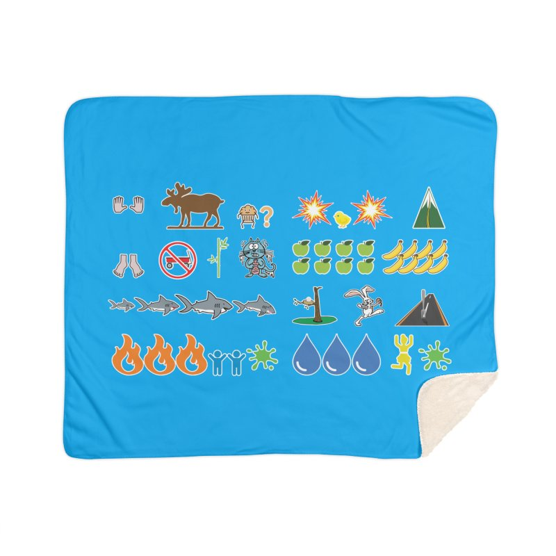 CSA Song Icons Home Blanket by Camp St. Andrews