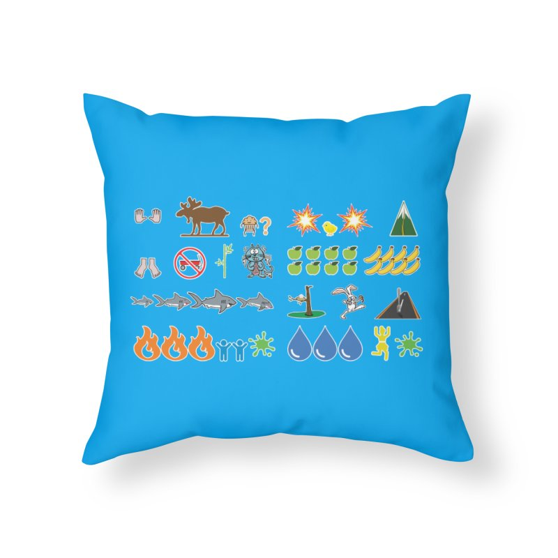 CSA Song Icons Home Throw Pillow by Camp St. Andrews
