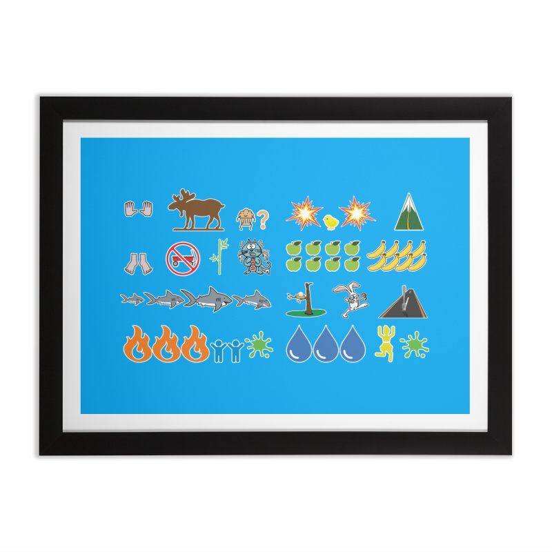 CSA Song Icons Home Framed Fine Art Print by Camp St. Andrews