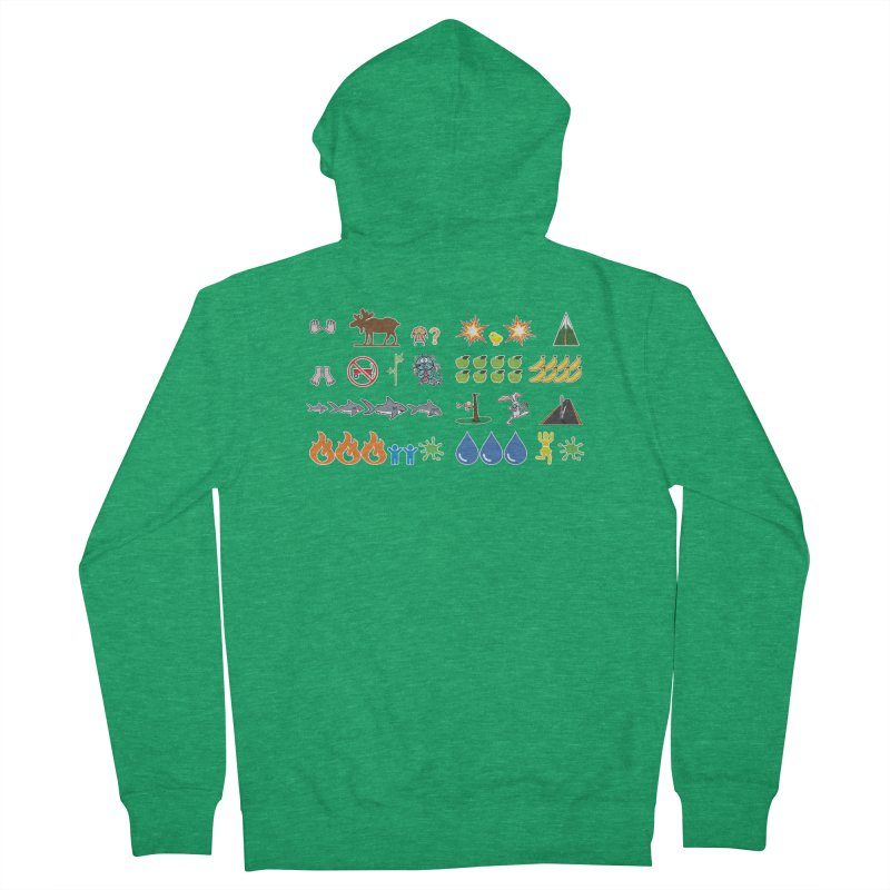 CSA Song Icons Women's Zip-Up Hoody by Camp St. Andrews