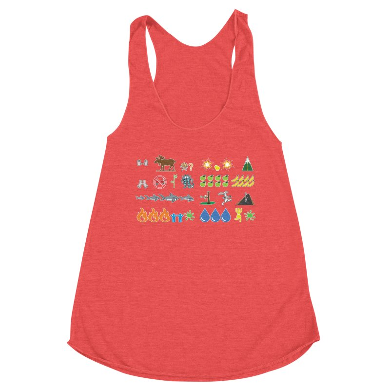 CSA Song Icons Women's Tank by Camp St. Andrews
