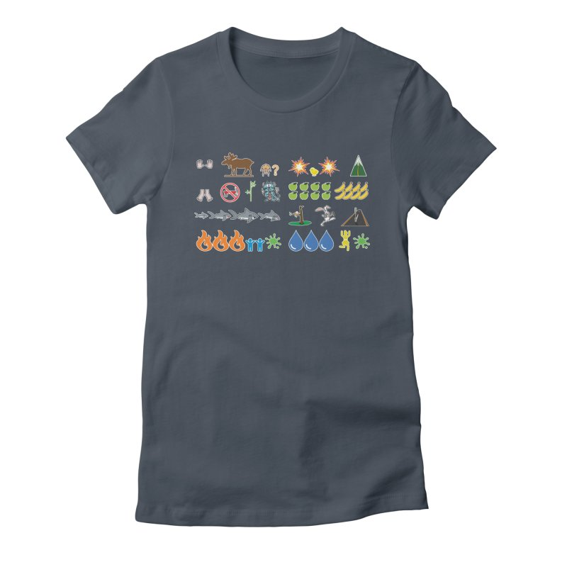 CSA Song Icons Women's T-Shirt by Camp St. Andrews