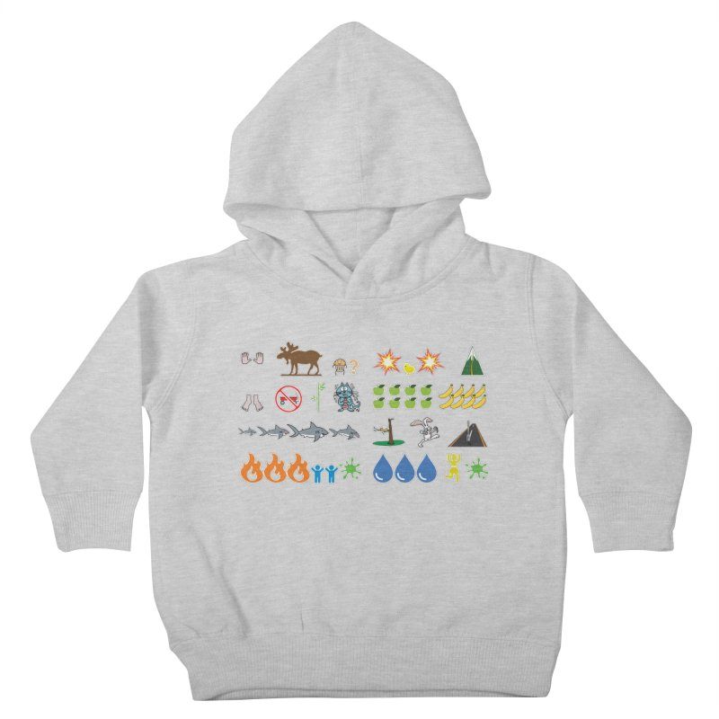 CSA Song Icons Kids Toddler Pullover Hoody by Camp St. Andrews