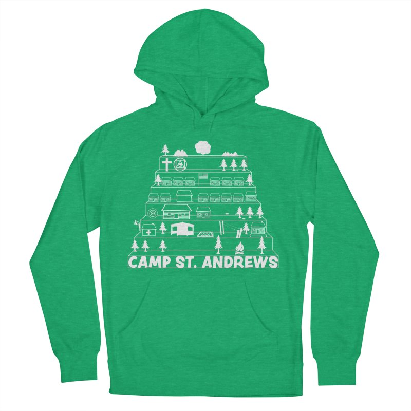 Stairs (white) Women's Pullover Hoody by Camp St. Andrews