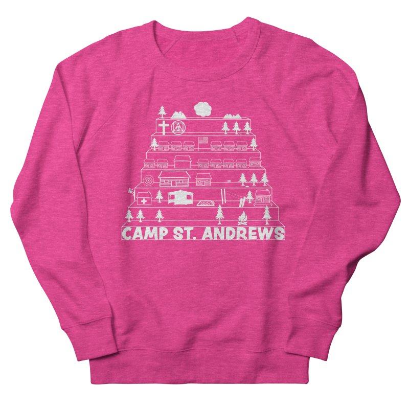 Stairs (white) Women's Sweatshirt by Camp St. Andrews