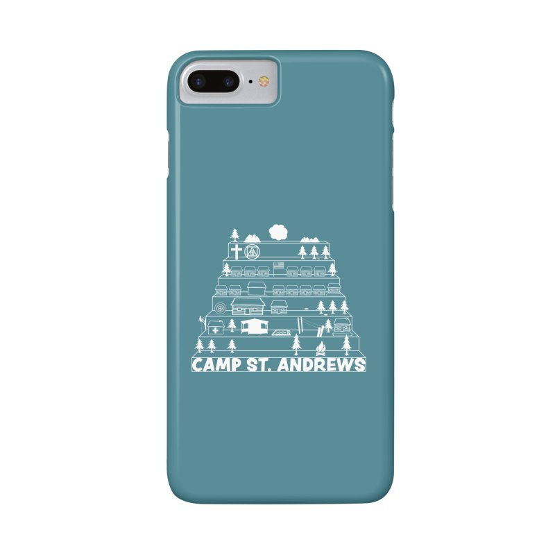 Stairs (white) Accessories Phone Case by Camp St. Andrews