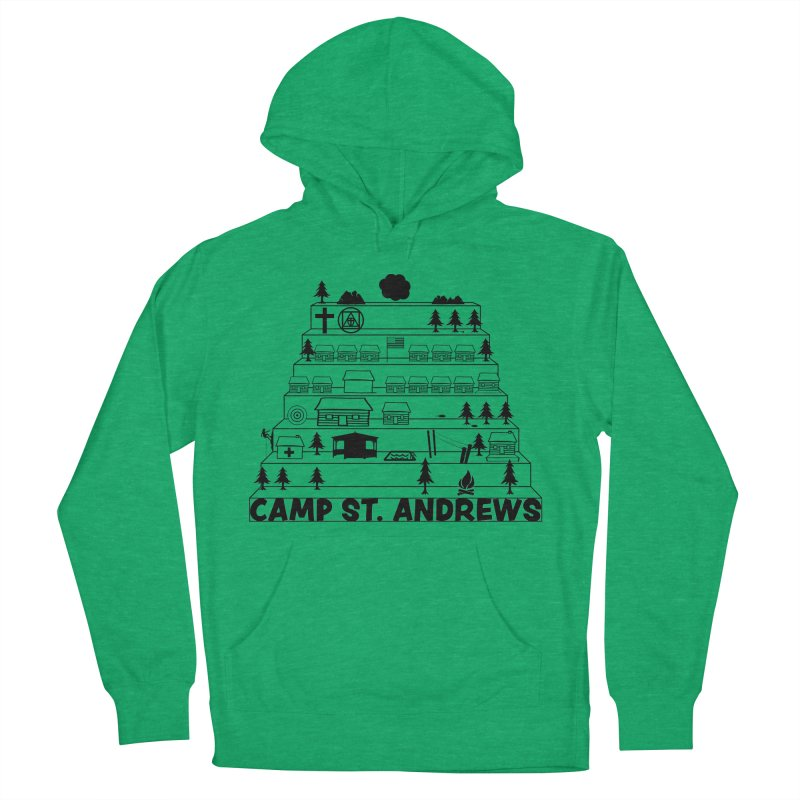 Stairs (black) Women's Pullover Hoody by Camp St. Andrews