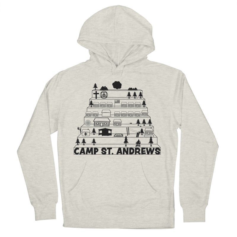 Stairs (black) Men's Pullover Hoody by Camp St. Andrews
