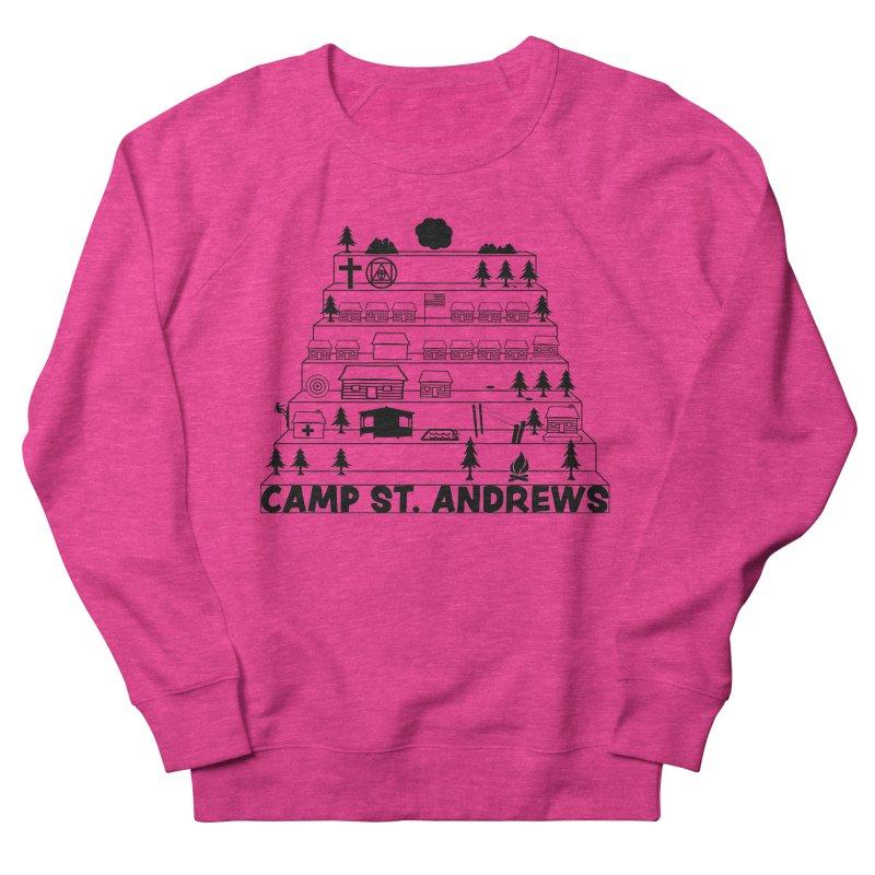 Stairs (black) Women's Sweatshirt by Camp St. Andrews
